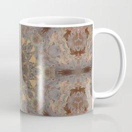 Copper Brown Terracotta Mandala and Tile Coffee Mug