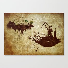 Movements Canvas Print