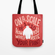 Rate your pain Tote Bag
