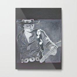Stevie Ray Vaughan - Guitar Metal Print