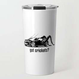 Got Crickets? ~Black~ Travel Mug