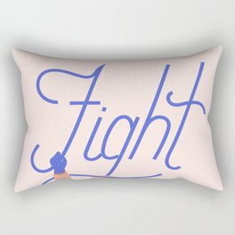 Fight Rectangular Pillow