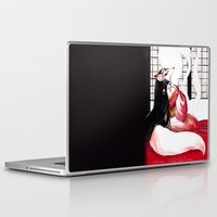 kitsune Laptop & iPad Skins featuring Kitsune by Aimee Steinberger