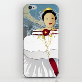 Hispanic Heritage Series - Central America - Panamanian Dancer iPhone Skin
