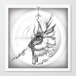 Frecuencia Visual Canvas Print