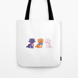 Once upon a time Aristocats Tote Bag