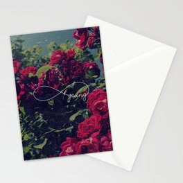 Red Roses Forever Young Stationery Cards
