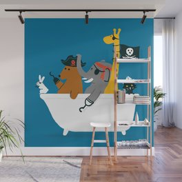 Everybody wants to be the pirate Wall Mural