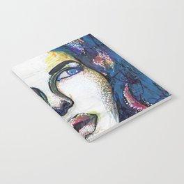 Pop Art Woman Notebook