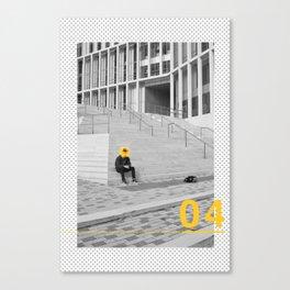 Yellow City 04 Canvas Print