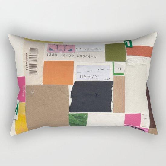 Daily Routine Rectangular Pillow