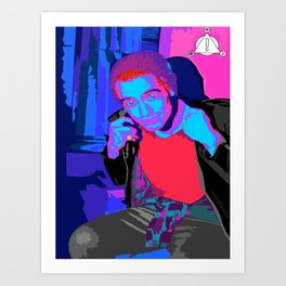 Beebo  Art Print