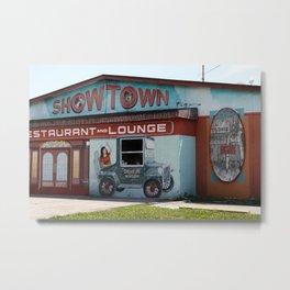 Showtown Metal Print