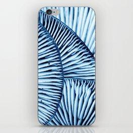 Enoki in Blue iPhone Skin