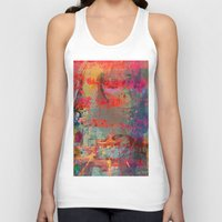 game Tank Tops featuring Game Over by Ganech joe
