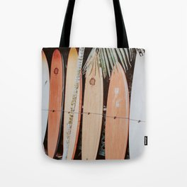 lets surf ii Tote Bag