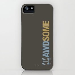 AWDSOME v7 HQvector iPhone Case