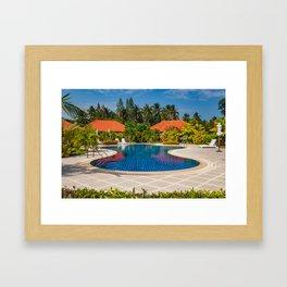 Tropical Paradise Framed Art Print