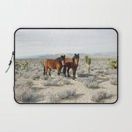 Desert Horse Pair Laptop Sleeve