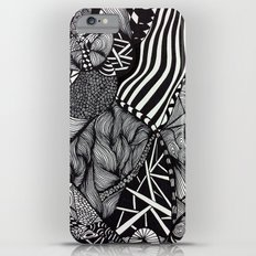 Zentangle #1 iPhone 6s Plus Slim Case