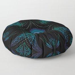 energy moon Floor Pillow