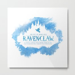 Ravenclaw Metal Print