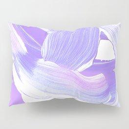 Shades of Purple Brush Stroke pattern #abstractart Pillow Sham