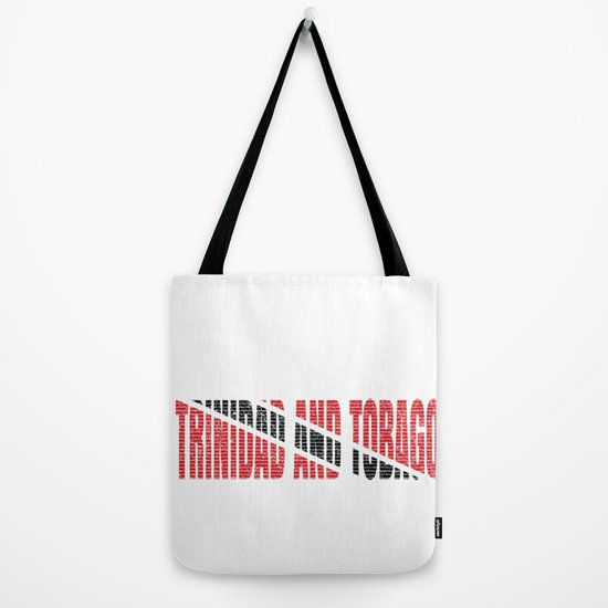 Trinidad And Tobago Flag Vintage Trinidadian National Country Gift Tote Bag