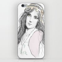 boho iPhone & iPod Skins featuring Boho by Lyndsey Ferguson