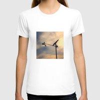 shoe T-shirts featuring Shoe Bird by Ken Seligson