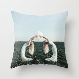 Fight with yourself Throw Pillow
