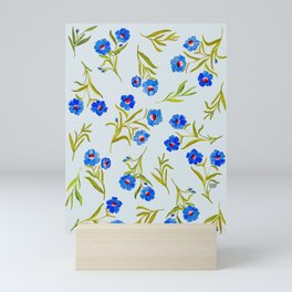 FRENCH BLUE Mini Art Print