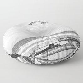 RIO B&W Floor Pillow