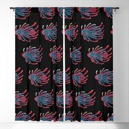 Lionfish Blackout Curtain