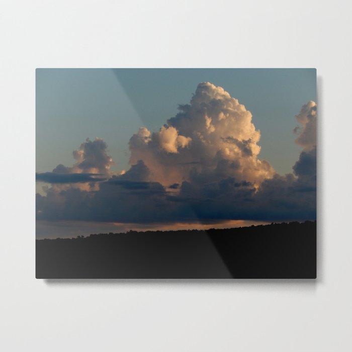 Hudson River Clouds1 Metal Print