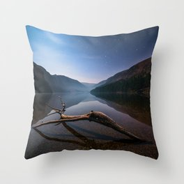 Glendalough at Night - Ireland | Print (RR 265) Throw Pillow