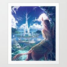 Lilandra Art Print