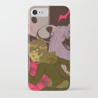 dangan ronpa iPhone & iPod Cases featuring mr monokumas extracurricular lesson by Cori Walters