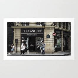 #sofrench Art Print