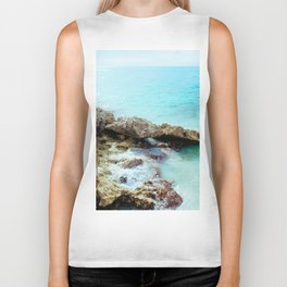 Crashing Waves Biker Tank