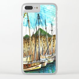 sicily port see Clear iPhone Case