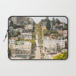 Climbing Hills in San Francisco Laptop Sleeve