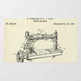Sewing Machine-1885 Rug