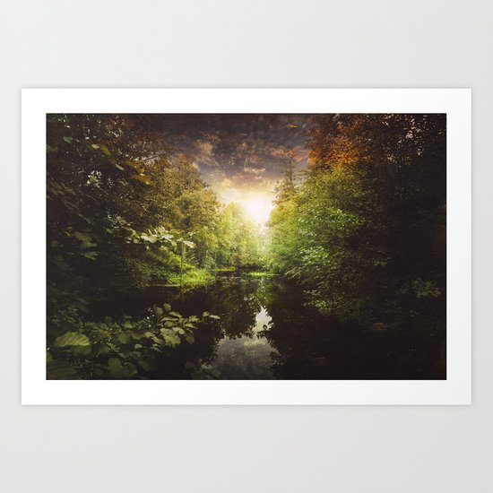 I miss you so much Art Print