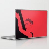 hepburn Laptop & iPad Skins featuring Hepburn by Agnes Domokos