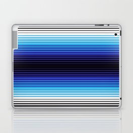 Deconstructed Serape in Blue Laptop & iPad Skin