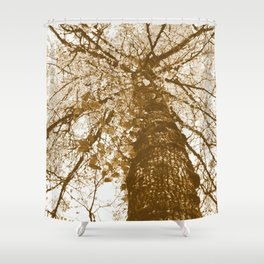 Earth's Lungs Shower Curtain