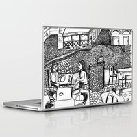 stockholm Laptop & iPad Skins featuring Stockholm by intermittentdreamscapes