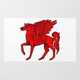 Pegasus shield 2. Rug