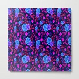 backgroung rose purple wallpaper Metal Print